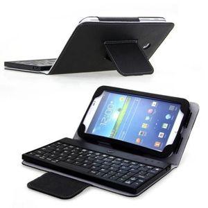 informatique r housse tablette  pouce avec clavier