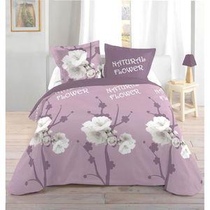 parure drap plat drap hous achat vente parure drap plat drap hous pas cher soldes cdiscount. Black Bedroom Furniture Sets. Home Design Ideas