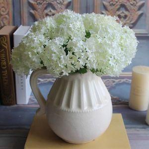 fleurs hortensia artificielle achat vente fleurs hortensia artificielle pas cher soldes. Black Bedroom Furniture Sets. Home Design Ideas