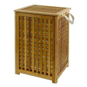 coffre linge bambou achat vente panier a linge coffre linge bambou petit prix cdiscount. Black Bedroom Furniture Sets. Home Design Ideas