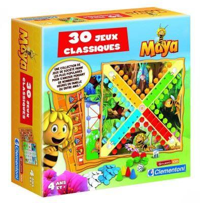 30 Jeux Classiques Maya l'abeille - Achat / Vente jeu société - plateau 30 Jeux Classiques Maya ...