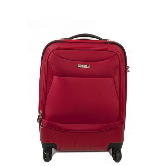 bagage cabine polyester dal rouge achat vente valise bagage bagage cabine polyester dal. Black Bedroom Furniture Sets. Home Design Ideas