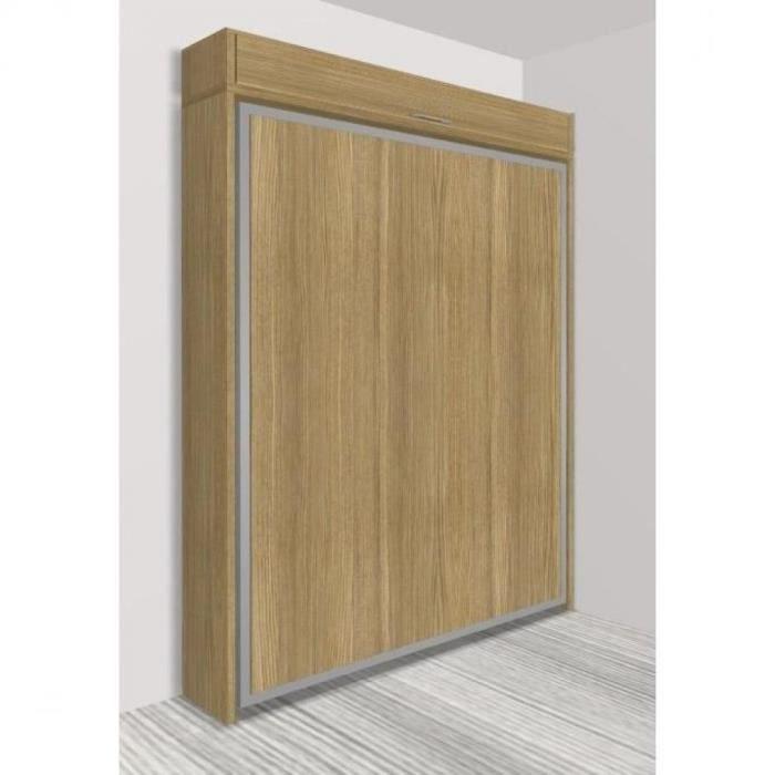 armoire lit escamotable eos ch ne couchage 160 22 200. Black Bedroom Furniture Sets. Home Design Ideas