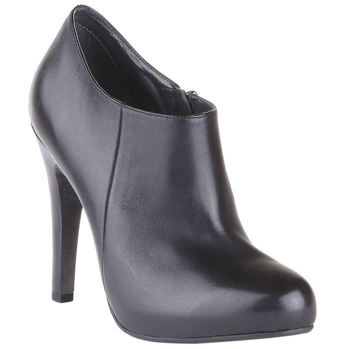 bata boots talon en cuir noi achat vente boots. Black Bedroom Furniture Sets. Home Design Ideas