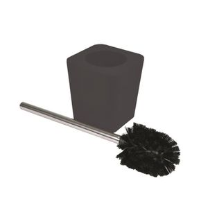 brosse wc noire achat vente brosse wc noire pas cher cdiscount. Black Bedroom Furniture Sets. Home Design Ideas
