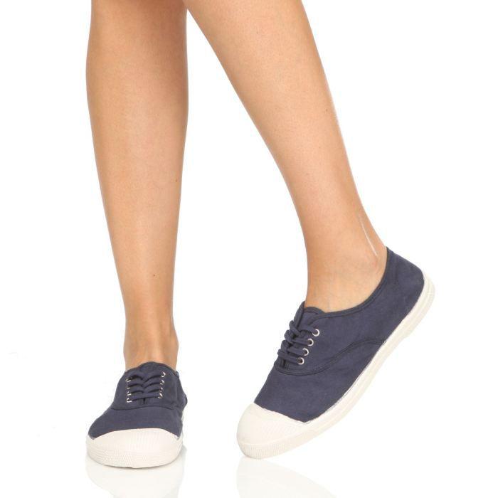 bensimon baskets f15004c15113 laces femme femme bleu achat vente bensimon baskets. Black Bedroom Furniture Sets. Home Design Ideas