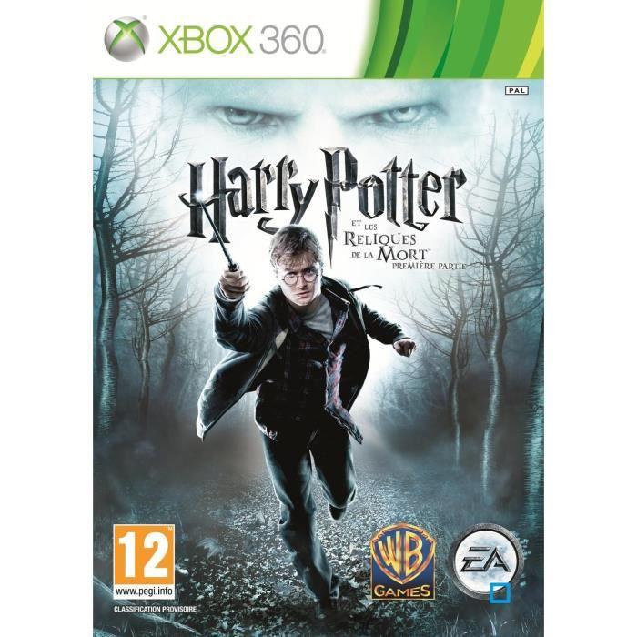 JEUX XBOX 360 Harry Potter Les Reliques de La Mort Part 1 X360