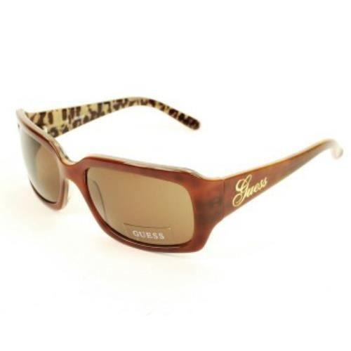 lunettes de soleil guess neuves femme 6405 brnlp marron achat vente lunettes de soleil. Black Bedroom Furniture Sets. Home Design Ideas