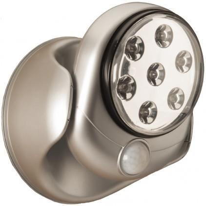 lampe led d tecteur de mouvements pivotante 360 achat vente d tecteur de mouvement soldes. Black Bedroom Furniture Sets. Home Design Ideas