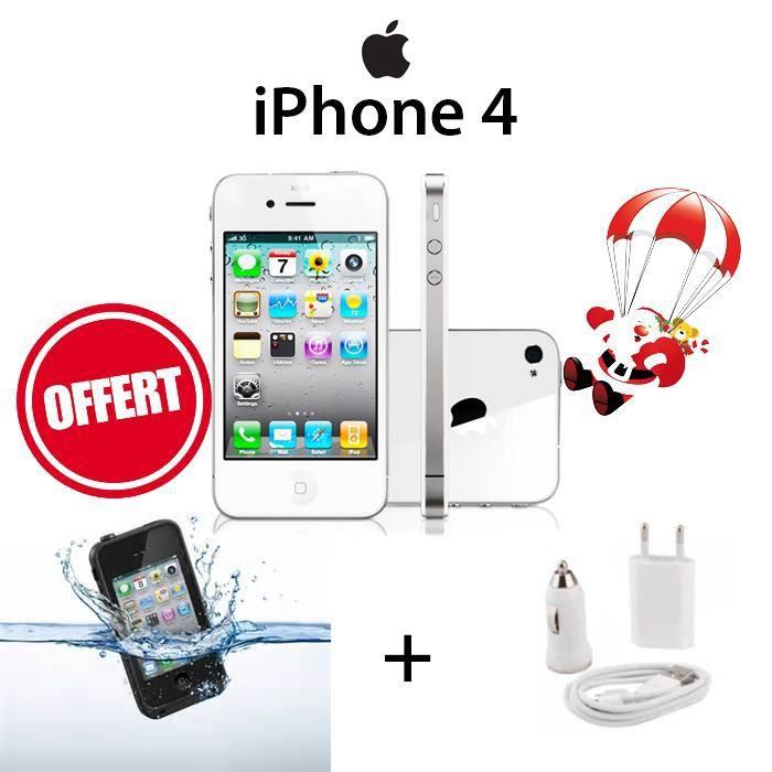 apple iphone 4 8go blanc pack 26 smartphone avis et. Black Bedroom Furniture Sets. Home Design Ideas