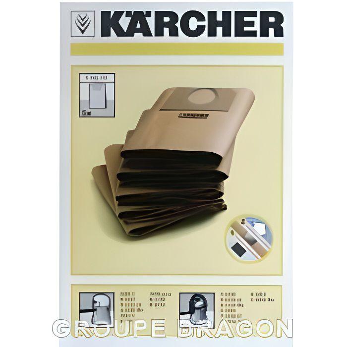 sacs aspirateur x5 karcher a2201 a2254 a2 achat. Black Bedroom Furniture Sets. Home Design Ideas