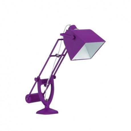 Lampe de bureau youri violet muno achat vente lampe de for Lampe de bureau fly