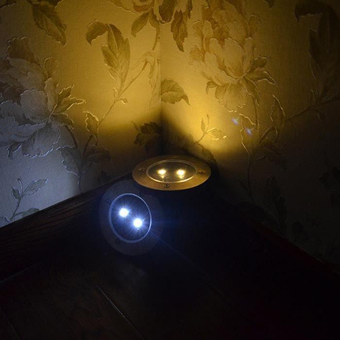 2 led solaire puissance chemin lampe jardin rez de lampe chaud achat vente fibre lumineuse 2. Black Bedroom Furniture Sets. Home Design Ideas