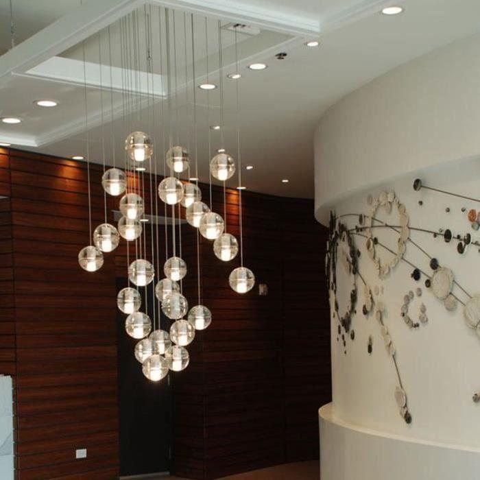 Cristal Meteor Lustres De Style Boule De Lustre1pc Warm