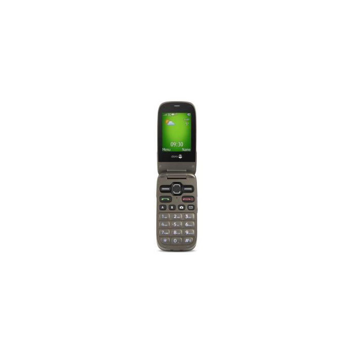 mobile doro phoneeasy 622 noir moka achat t l phone portable pas cher avis et meilleur prix. Black Bedroom Furniture Sets. Home Design Ideas