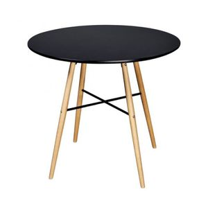 Table tulipe blanche achat vente table tulipe blanche - Table salle a manger noir ...