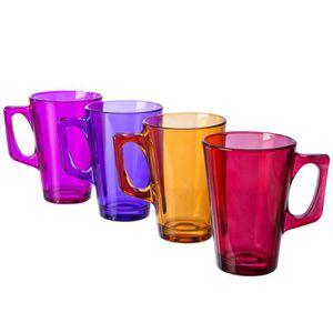 mug en verre achat vente mug en verre pas cher cdiscount. Black Bedroom Furniture Sets. Home Design Ideas