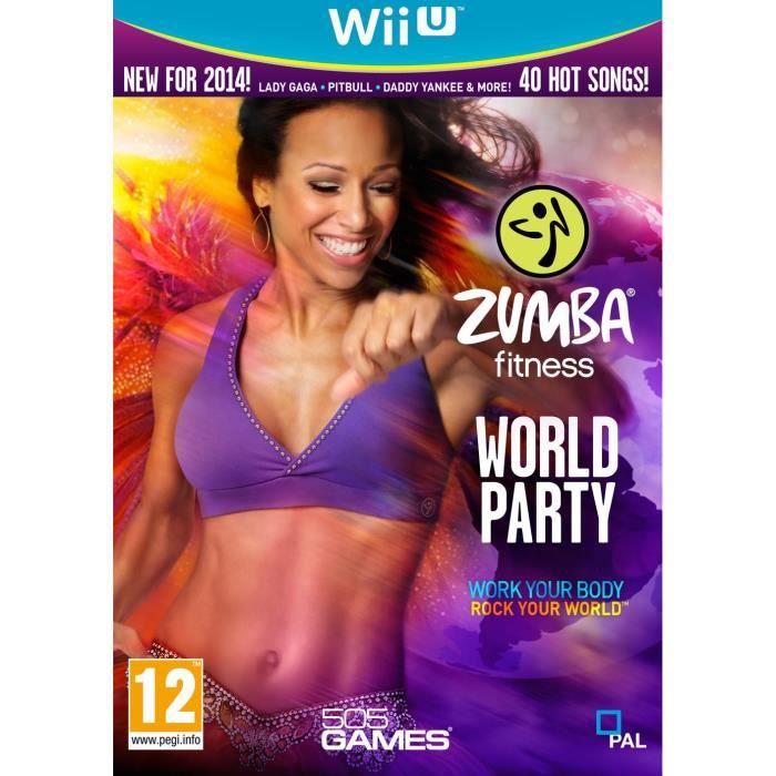 JEUX WII U Zumba World Party Jeu Wii U