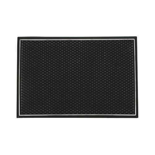 Paillasson rectangulaire noir achat vente paillasson for Paillasson interieur maison