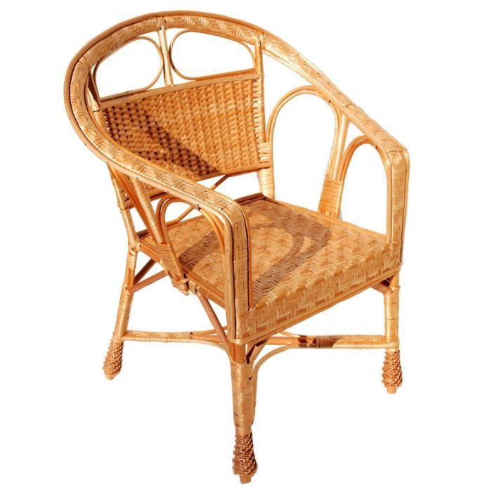 fauteuil osier jardin fauteuil en osier naturel plan lot de 2 achat vente