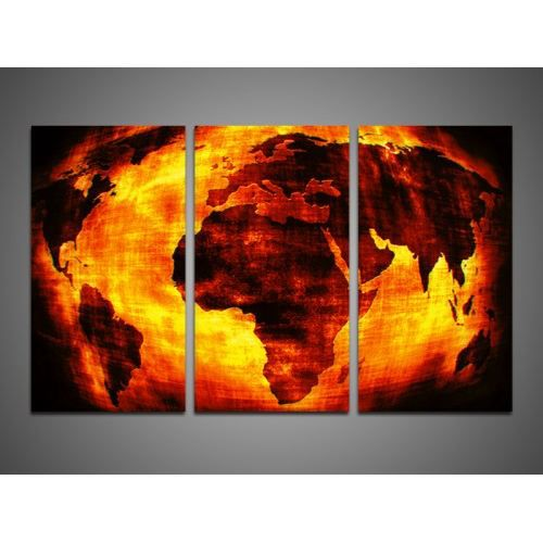 Tableau contemporain apocalypse 3p achat vente tableau toile cdiscount - Achat tableau contemporain ...