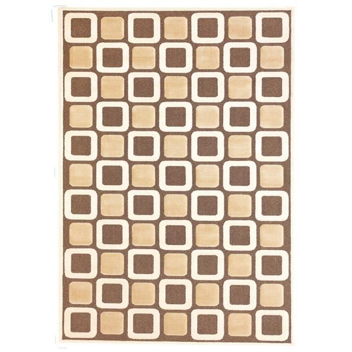 structura beige 160x230 tapis moderne achat vente tapis cdiscount. Black Bedroom Furniture Sets. Home Design Ideas