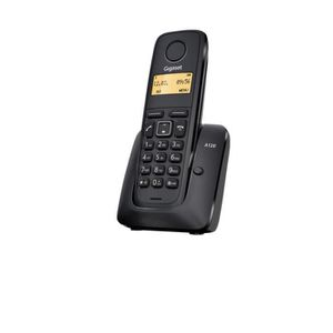 Téléphone fixe DECT GIGASET A120 SOLO NOIR