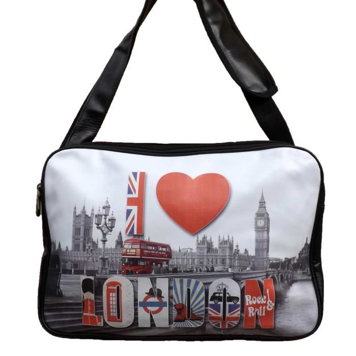 sac besace reporter london union jack londres achat vente besace sac reporter. Black Bedroom Furniture Sets. Home Design Ideas