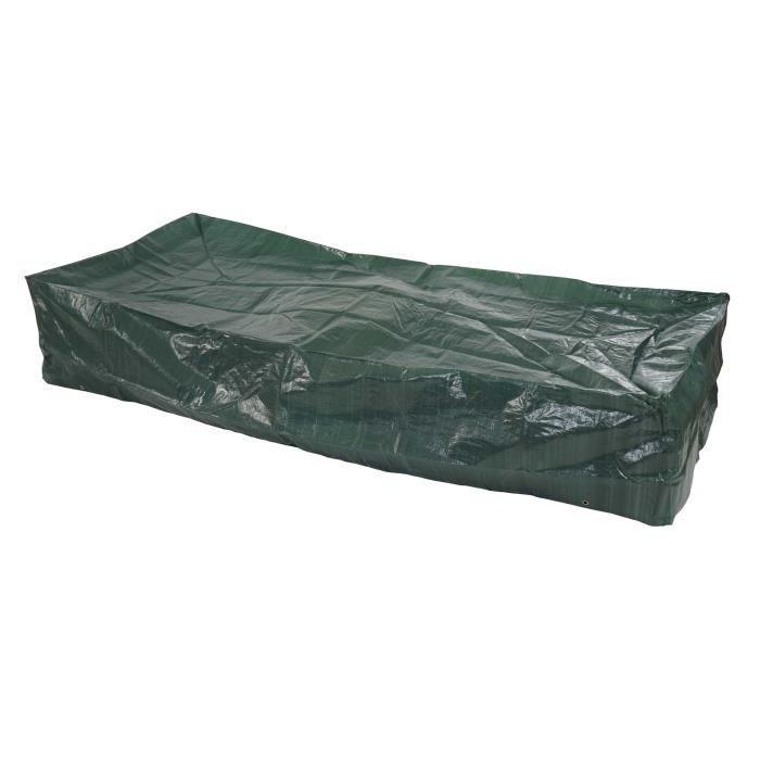 Housse de protection jardin pour transat 200x85x40 cm for Transat pour jardin