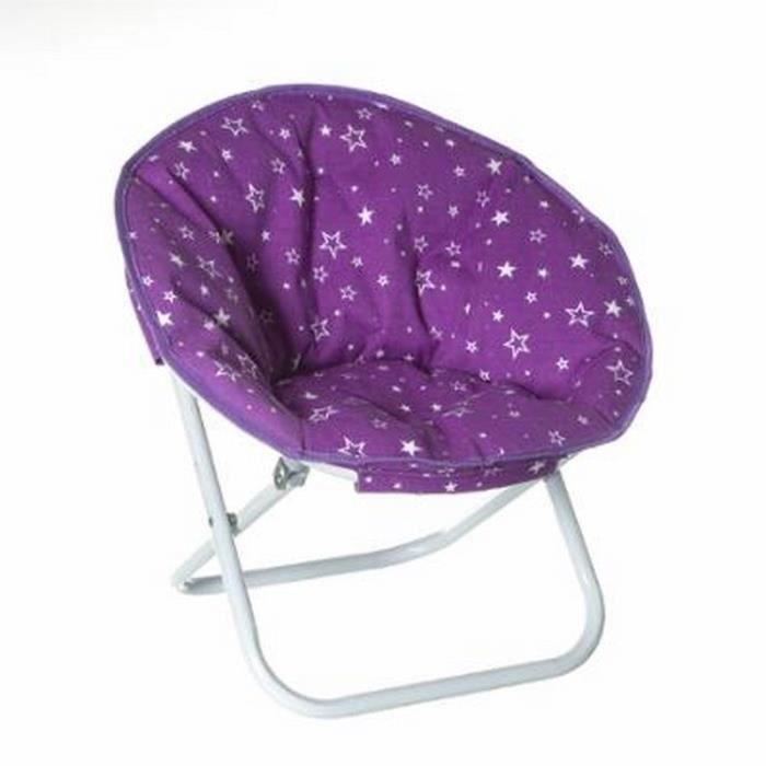 Paris prix fauteuil pliable etoile violet achat vente faute - Fauteuil cabriolet violet ...