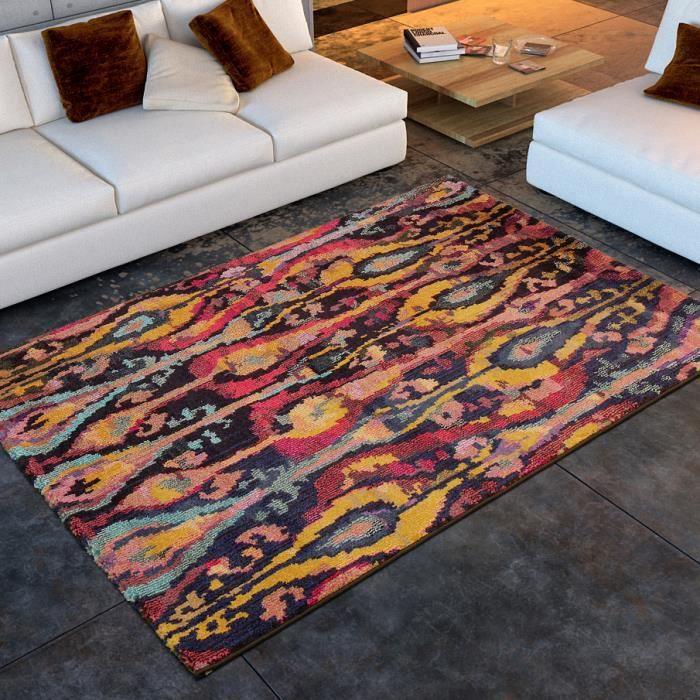 tapis salon casablanca psych d lique universol achat. Black Bedroom Furniture Sets. Home Design Ideas