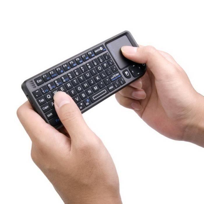 clavier 2 4ghz 15m souris ouchpad pr tv box pc clavier numerique tv prix pas cher cdiscount. Black Bedroom Furniture Sets. Home Design Ideas