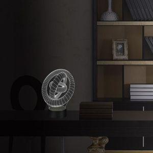 Lampe led cercle achat vente pas cher cdiscount for Lampe de table de nuit