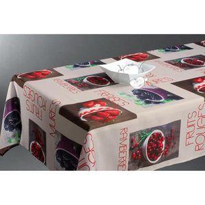 nappe fruit achat vente nappe fruit pas cher cdiscount. Black Bedroom Furniture Sets. Home Design Ideas