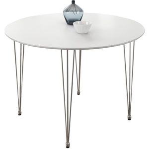 Table ronde cuisine chaises achat vente table ronde for Table ronde design 90 cm