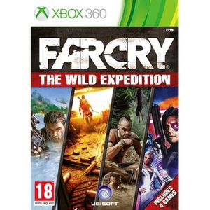 JEUX XBOX 360 Far Cry Wild Expedition x360