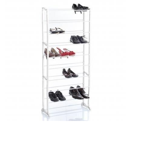rack chaussures 30 paires achat vente petit meuble rangement rack chaussures 30 paires. Black Bedroom Furniture Sets. Home Design Ideas