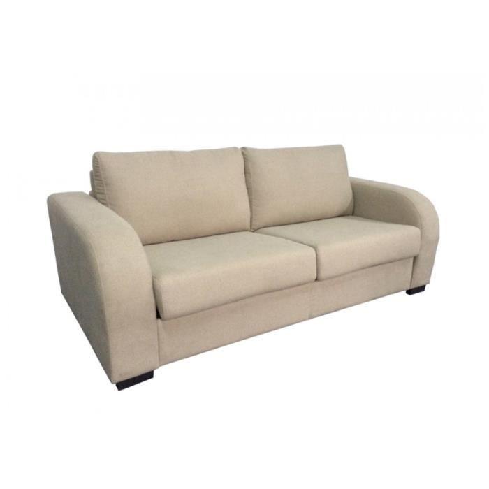 Canap convertible rapide sable achat vente canap sofa divan tissu - Vente privee canape convertible ...