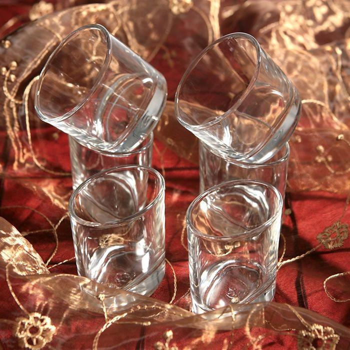 ellipse lot de 6 verres verrines achat vente mise en bouche cdiscount. Black Bedroom Furniture Sets. Home Design Ideas