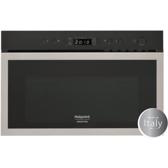 hotpoint mh 600 ix micro ondes combin encastrable inox. Black Bedroom Furniture Sets. Home Design Ideas