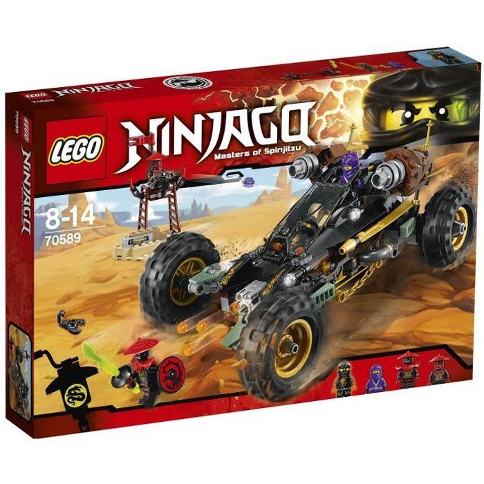 assemblage construction lego ninjago 70589 le tout terrain de combat