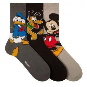 chaussettes disney homme gris achat vente chaussettes cdiscount. Black Bedroom Furniture Sets. Home Design Ideas