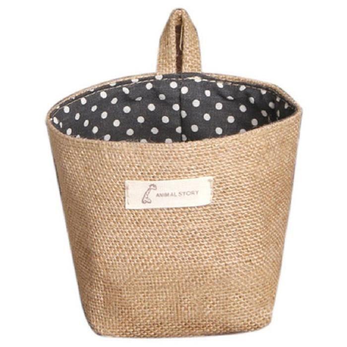 polka petit chiffon de sac de rangement suspendus non. Black Bedroom Furniture Sets. Home Design Ideas