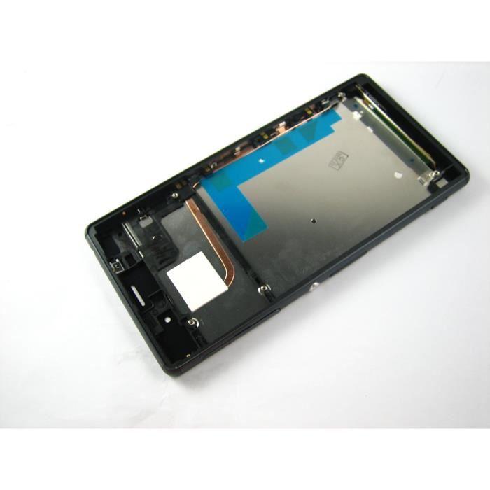 lcd ecran exposer touche tactile digitizer cadre pour sony xperia z3 d6603 d6616 noir achat. Black Bedroom Furniture Sets. Home Design Ideas