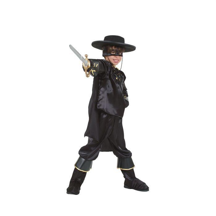 DÉGUISEMENT - PANOPLIE Déguisement Cavalier noir - 8 / 10 ans