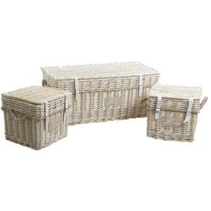 malle coffre osier achat vente malle coffre osier pas cher cdiscount. Black Bedroom Furniture Sets. Home Design Ideas