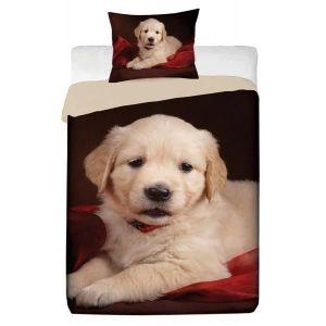 parure de lit chien achat vente parure de lit chien pas cher cdiscount. Black Bedroom Furniture Sets. Home Design Ideas