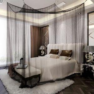 CHAMBRE COMPLÈTE  Ciel de lit moustiquaire 4coins Protection complet