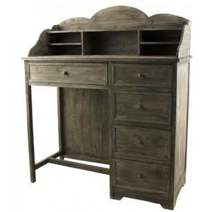 secretaire en bois avec tiroirs achat vente secretaire. Black Bedroom Furniture Sets. Home Design Ideas