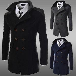 MANTEAU - CABAN Design spécial pièces jointives manteau homme v...